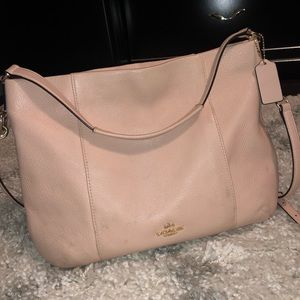 Authentic Coach East/West Isabelle Hobo bag.